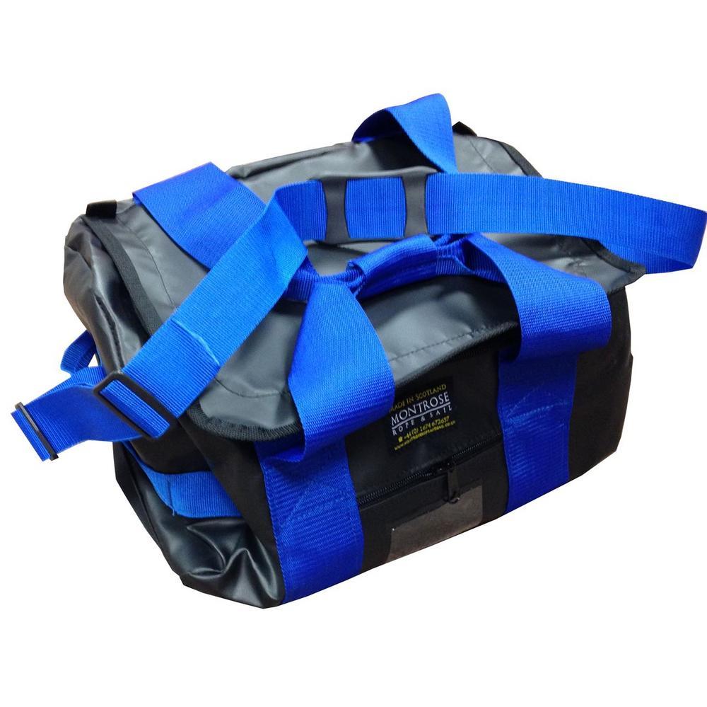 Montrose Kit bag ESK Black with Blue Webbing