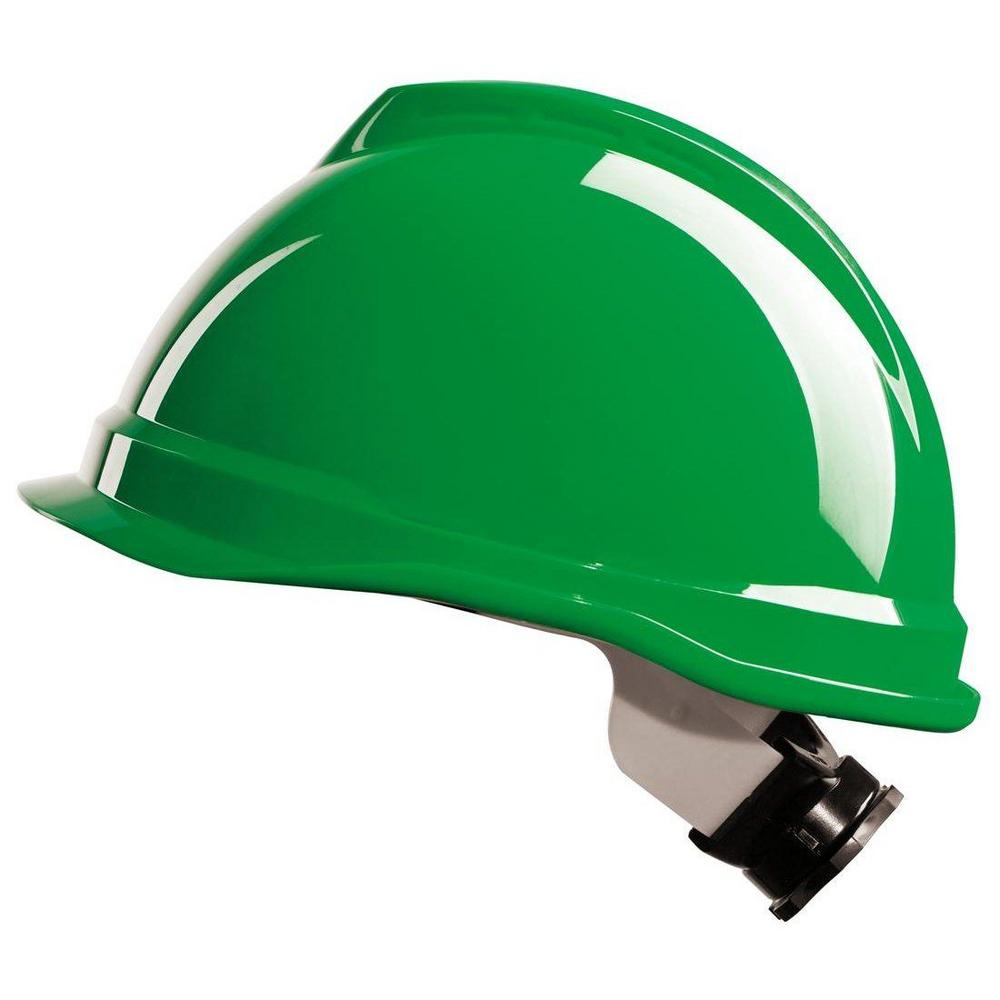 MSA Original V-Gard 520 Short peak Safety Helmet with Fas-Trac - Various Colours
