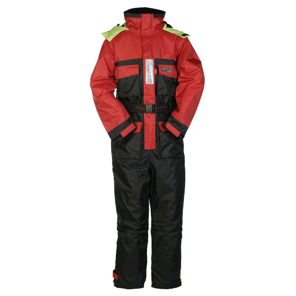 Mullion 1MHA Waterproof North Sea 1 - red & black 1 Piece deck Suit 1MHAA2NX1