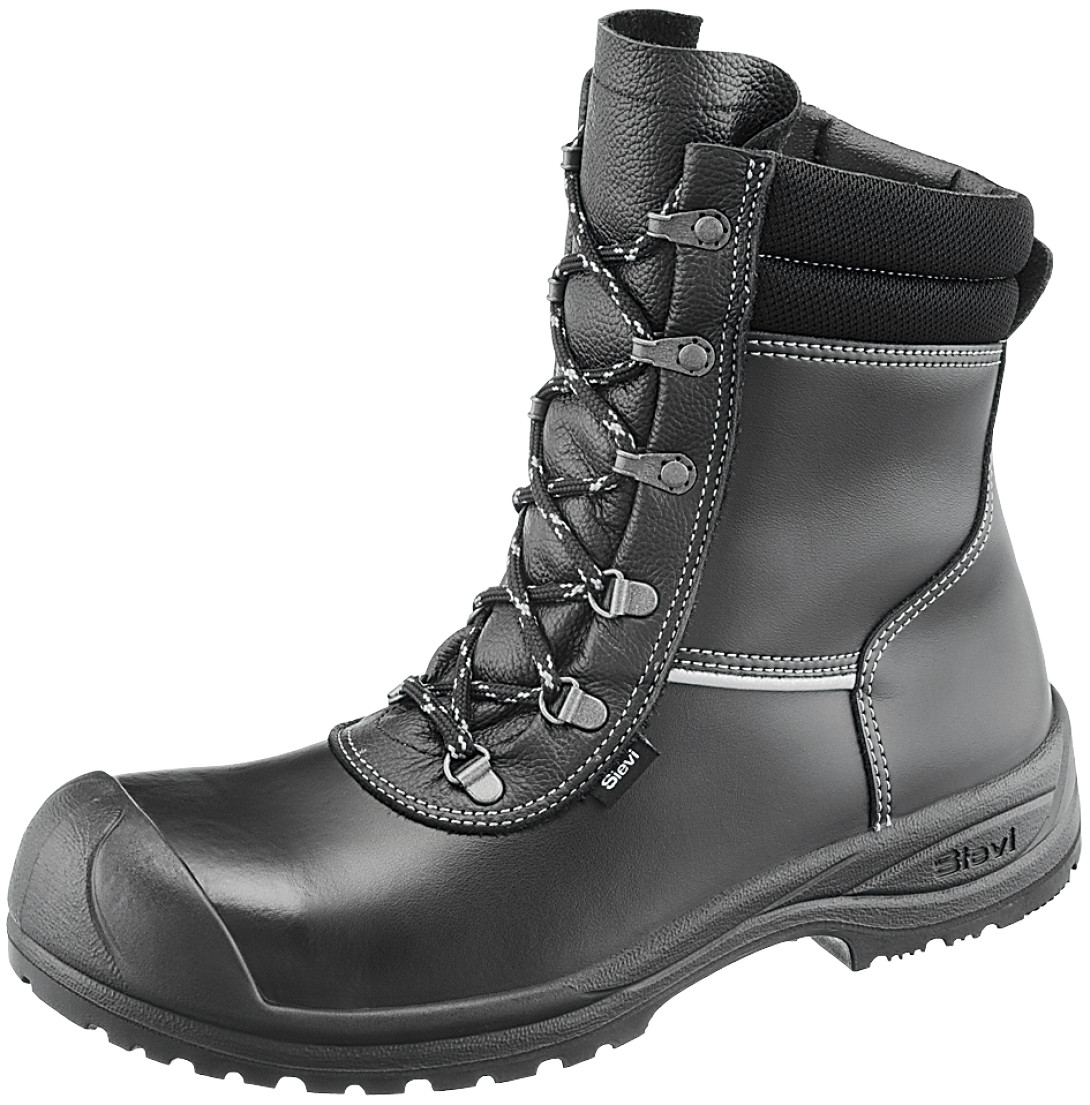 V12 Safety V6816 POLAR Mens Work Boots Rigger Tan Brown Fur Leather Toe Cap S3