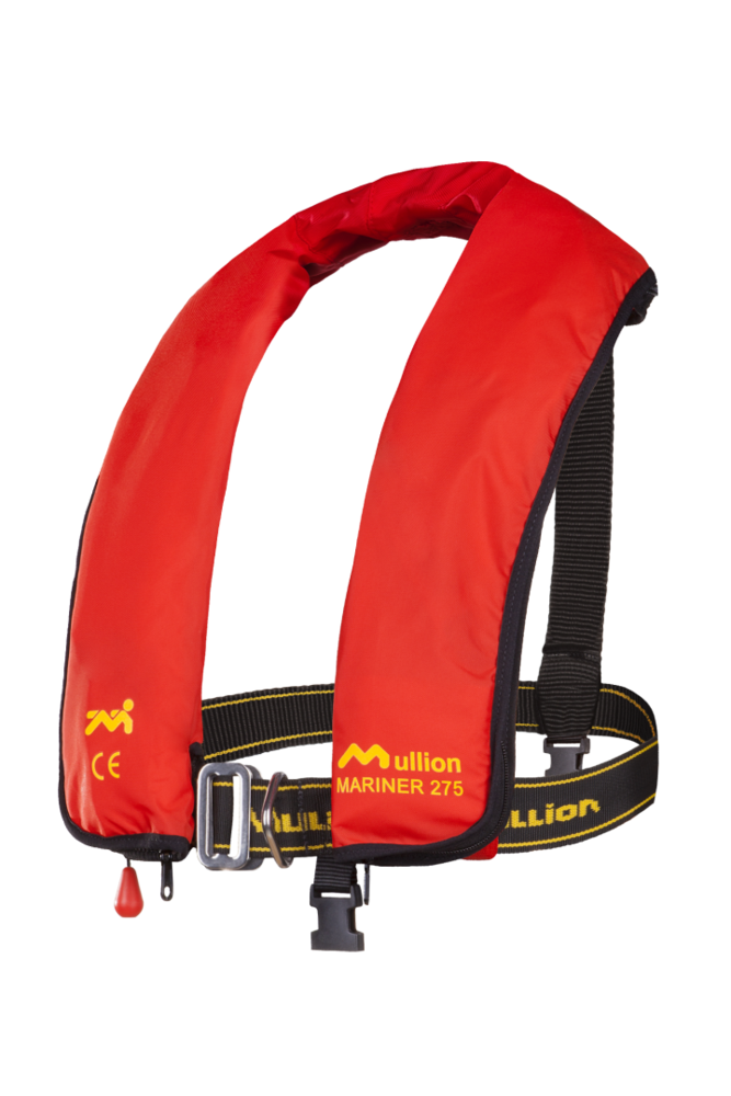 Mullion Mariner 275N PVC-UM 1MU9A2N06 Life Jacket Reflective Tape Harness