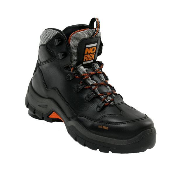 No Risk Hillary S3 SRC Metal Free Waterproof Safety Boots Black