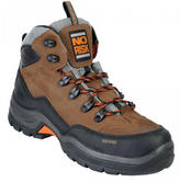 No Risk Darwin Safety Hiker Boot S3 Metal-Free Brown