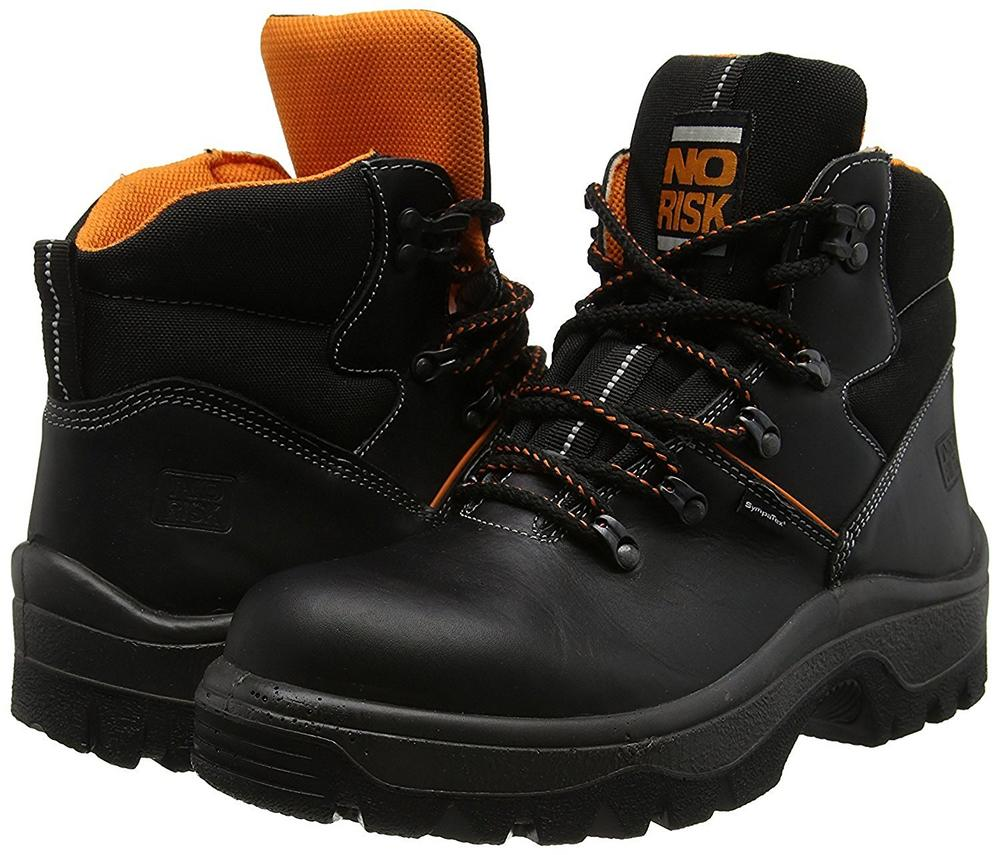 No Risk Franklyn Safety Boot Steel Toe Cap Waterproof S3
