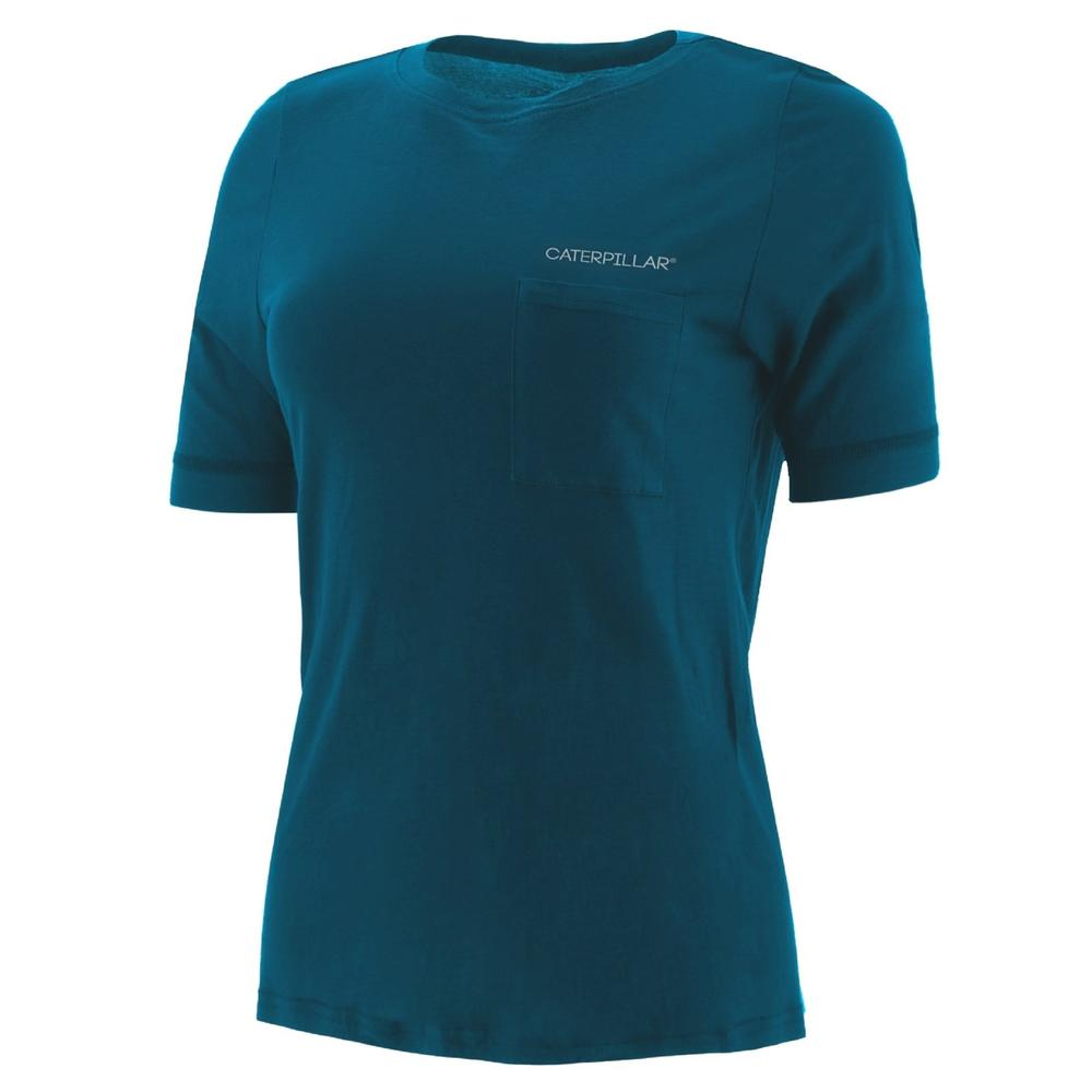 Caterpillar 1510427 Ladies 3/4 Sleeve T-Shirt