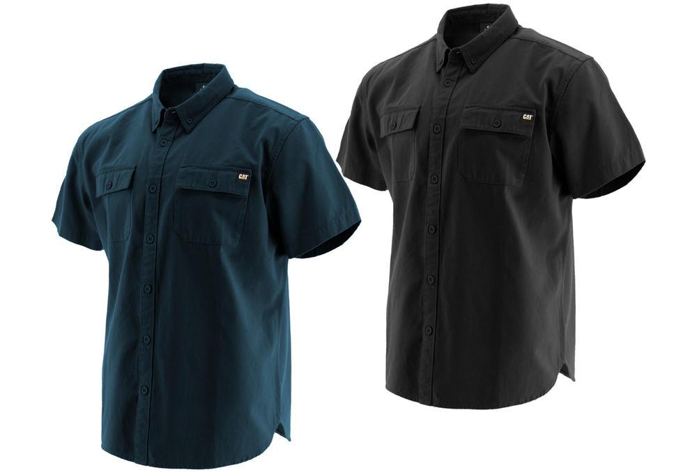 Caterpillar 1610016 Button Down Short Sleeve Shirt
