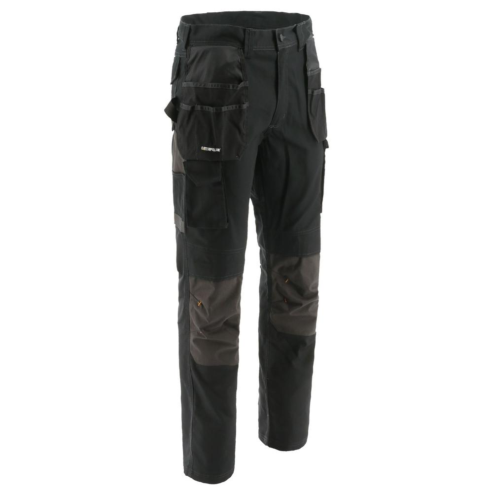Caterpillar 1810056 Essentials Knee Pocket Trousers Black