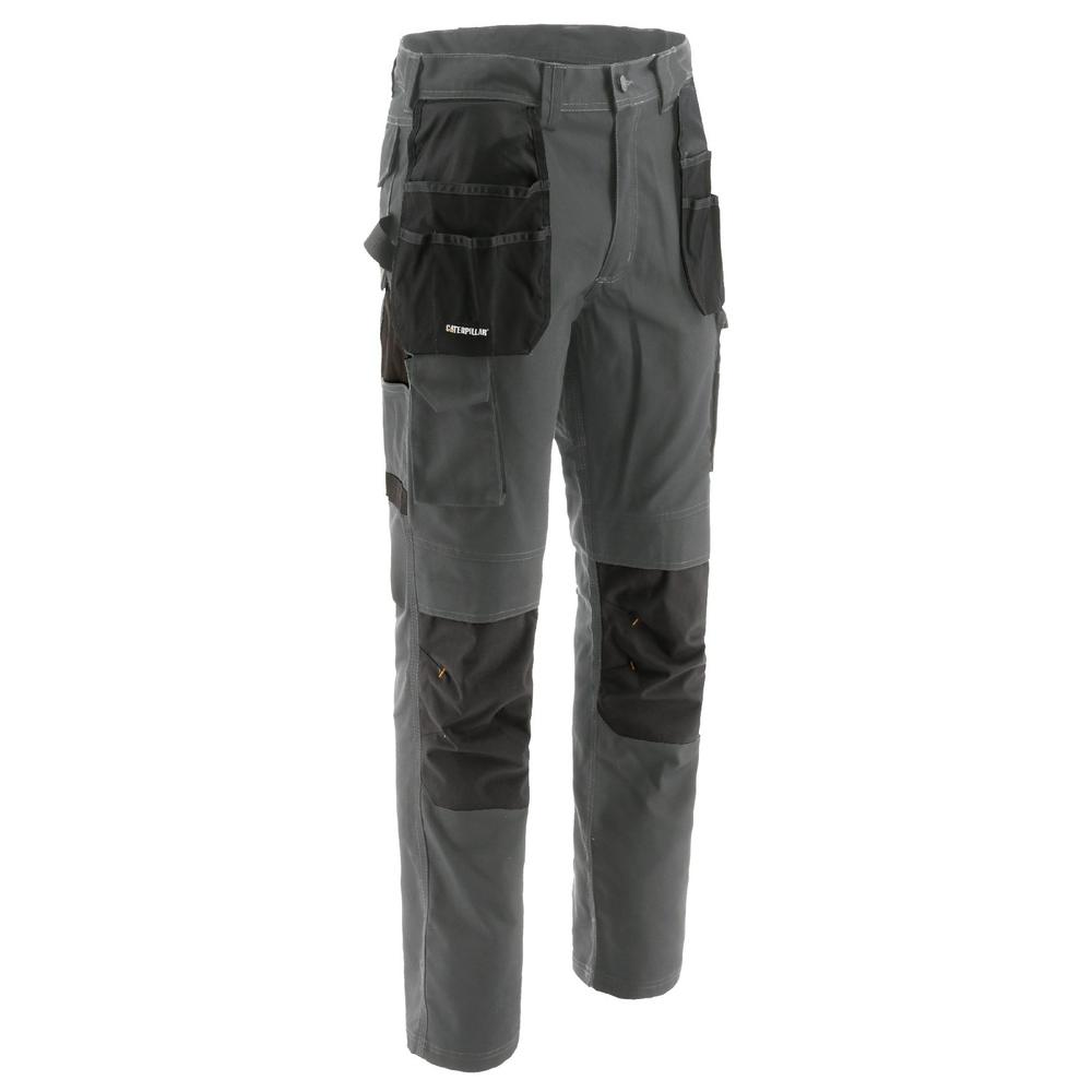 Caterpillar 1810056 Essentials Knee Pocket Trousers Grey