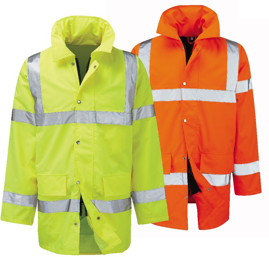 Orbit Hi Vis Traffic Jacket Geraint Yellow/Orange FWEJ