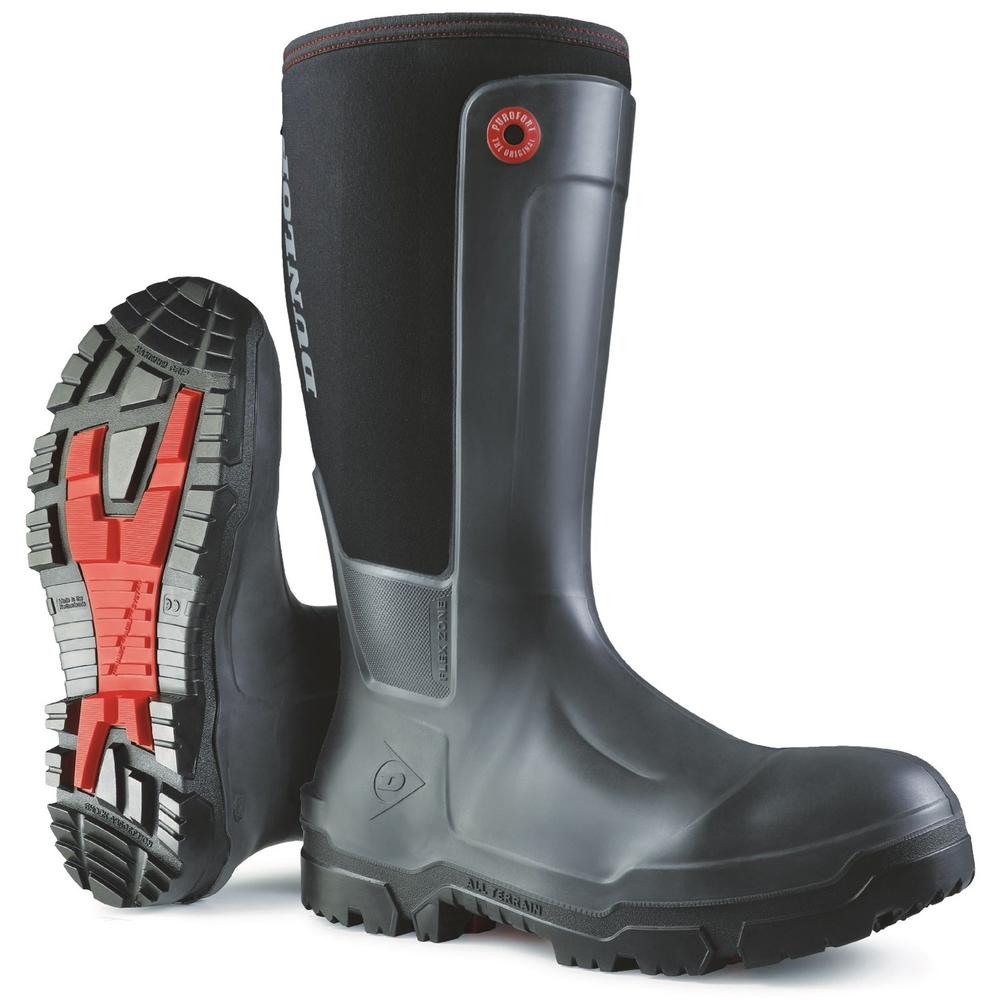 Dunlop Snugboot Workpro Safety Wellington Boots Metal Free