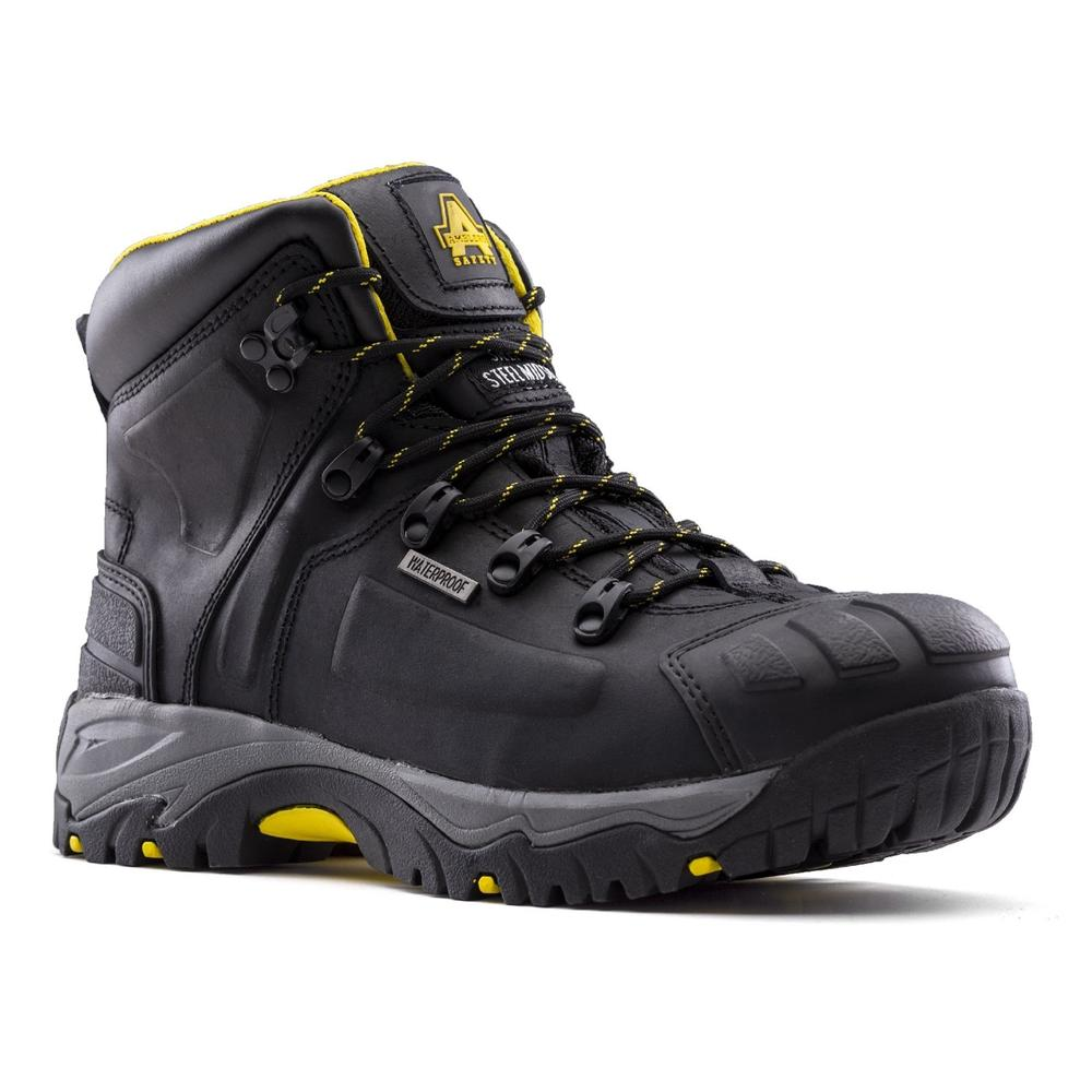 Amblers AS803 Broad Men Safety Boots Wide Fit Waterproof