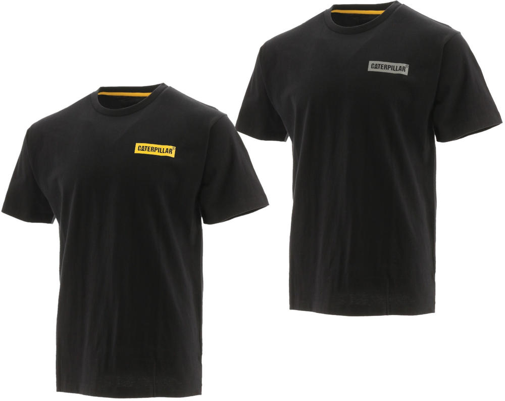 Caterpillar 1510408 Icon Block Men Short Sleeve T-Shirt