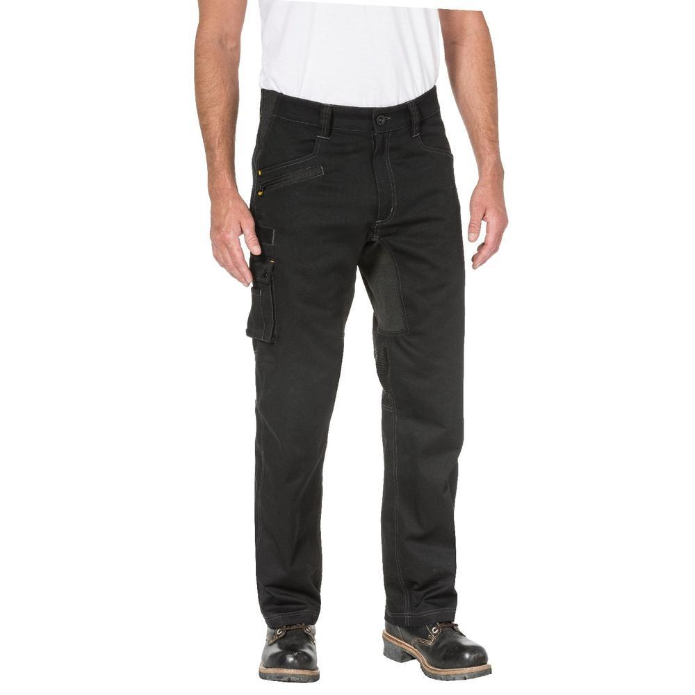 Caterpillar 1810038 Operator Flex Men Work Trousers Black