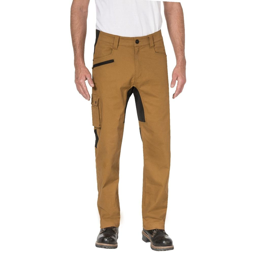 Caterpillar 1810038 Operator Flex Men Work Trousers Tan
