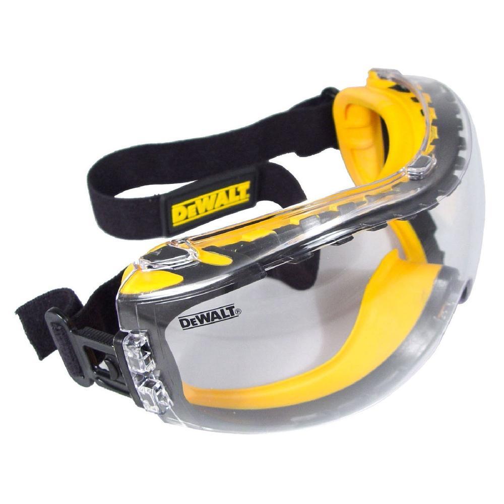 DeWALT Concealer Safety Goggles Clear Lens