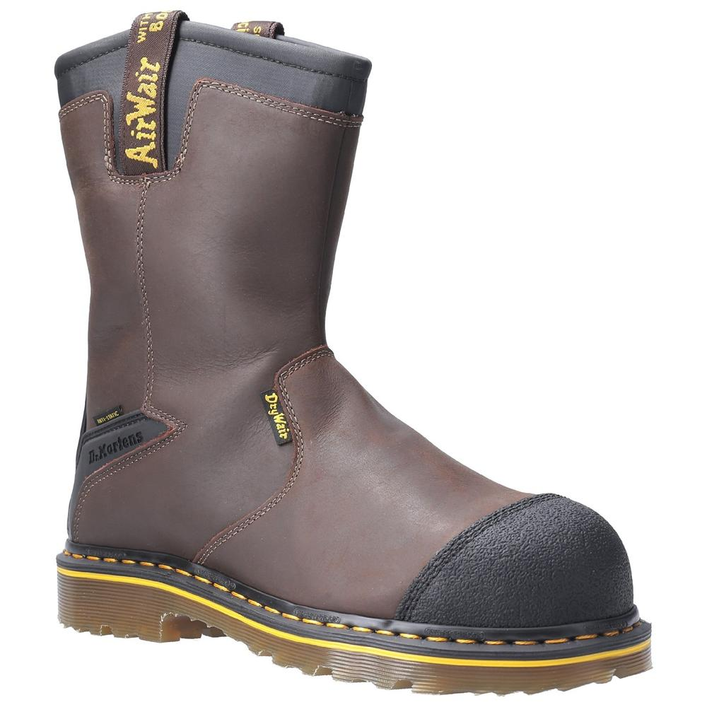 Dr Martens Firth Men Safety Rigger Boots Waterproof Welted