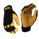 Stanley SY750L Hybrid Performance Men Leather Gloves Large
