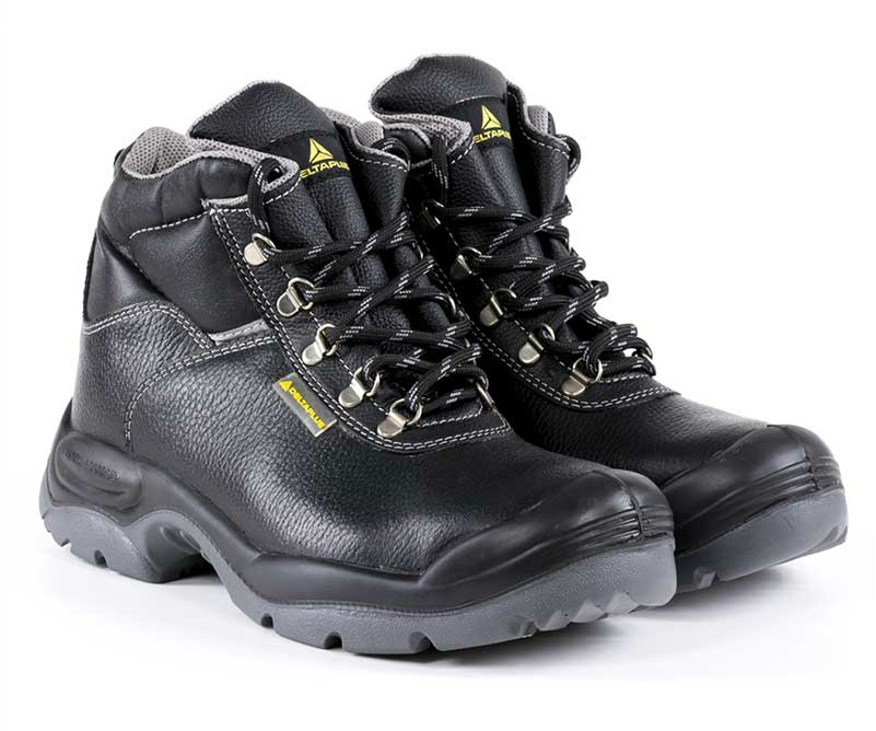 Delta Plus Panoply SAULT S3 SRC Mens Safety Work Boots Black