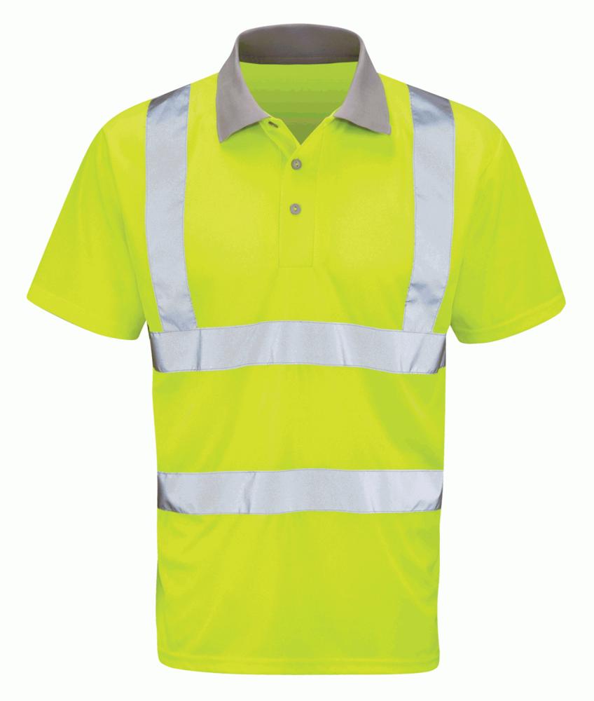 Orbit International HVPS Mercury High Visibility Polo Shirt Short Sleeve
