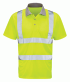 Orbit International HVPS Mercury High Visibility Polo Shirt Short Sleeve