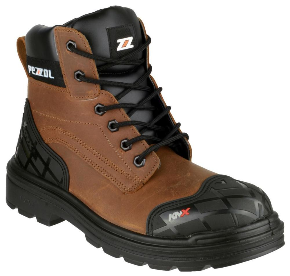 Pezzol Amazon 649 Men's Safety Boots Brown
