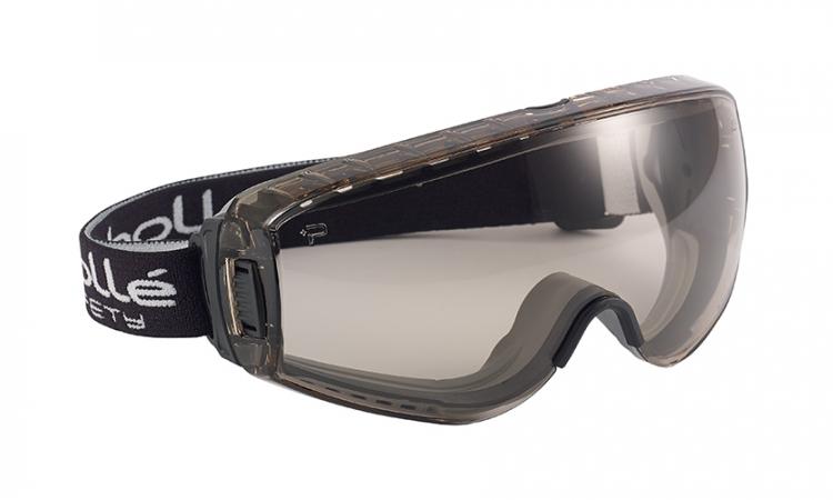 Bollé PILOCSP Pilot Safety Goggles Platinum® Coating CSP Lens Unvented