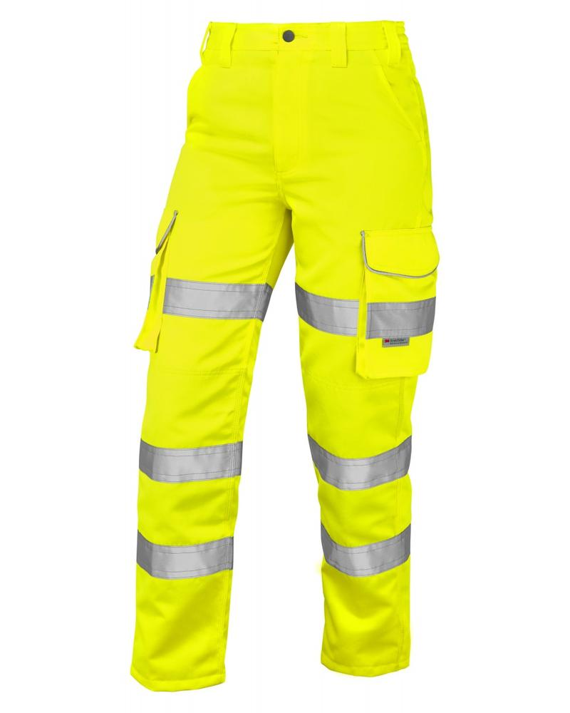 Leo Workwear CL01 Pennymoor Ladies Cargo Hi Vis Trousers