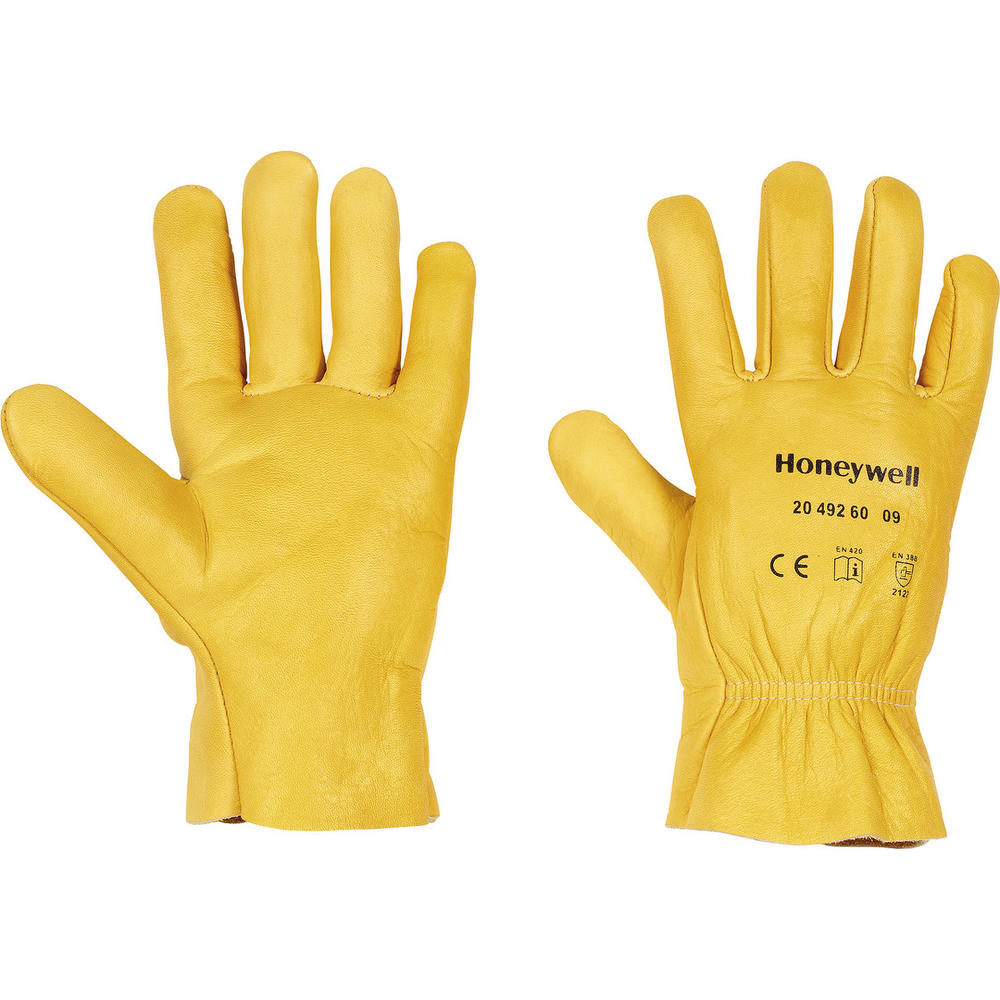 Honeywell 2049260 Hydrograin Driver Gloves Water Resistant Leather Size 8