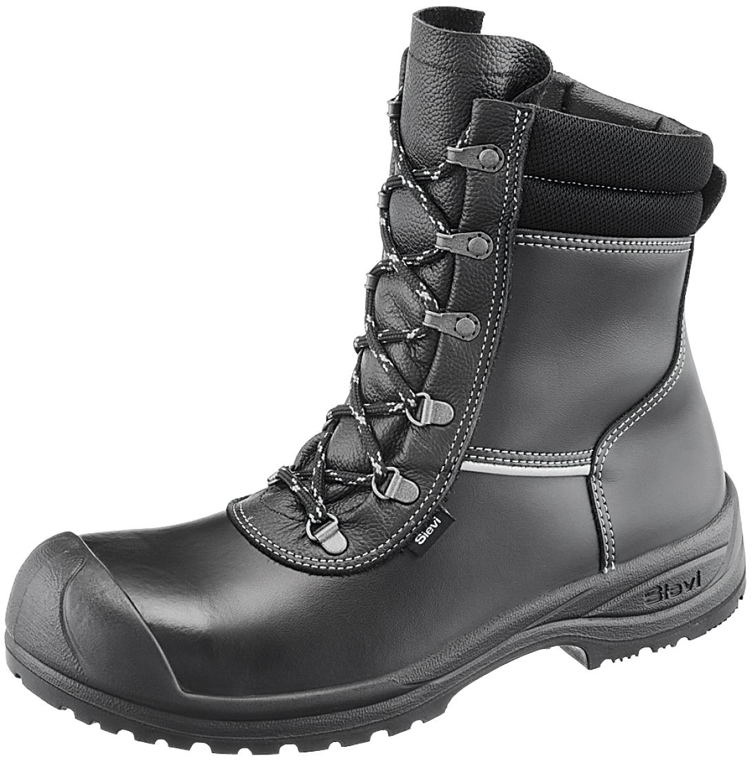 08e2199c303 Sievi Solid XL+ Fur Lined S3 Safety Boots -side zip