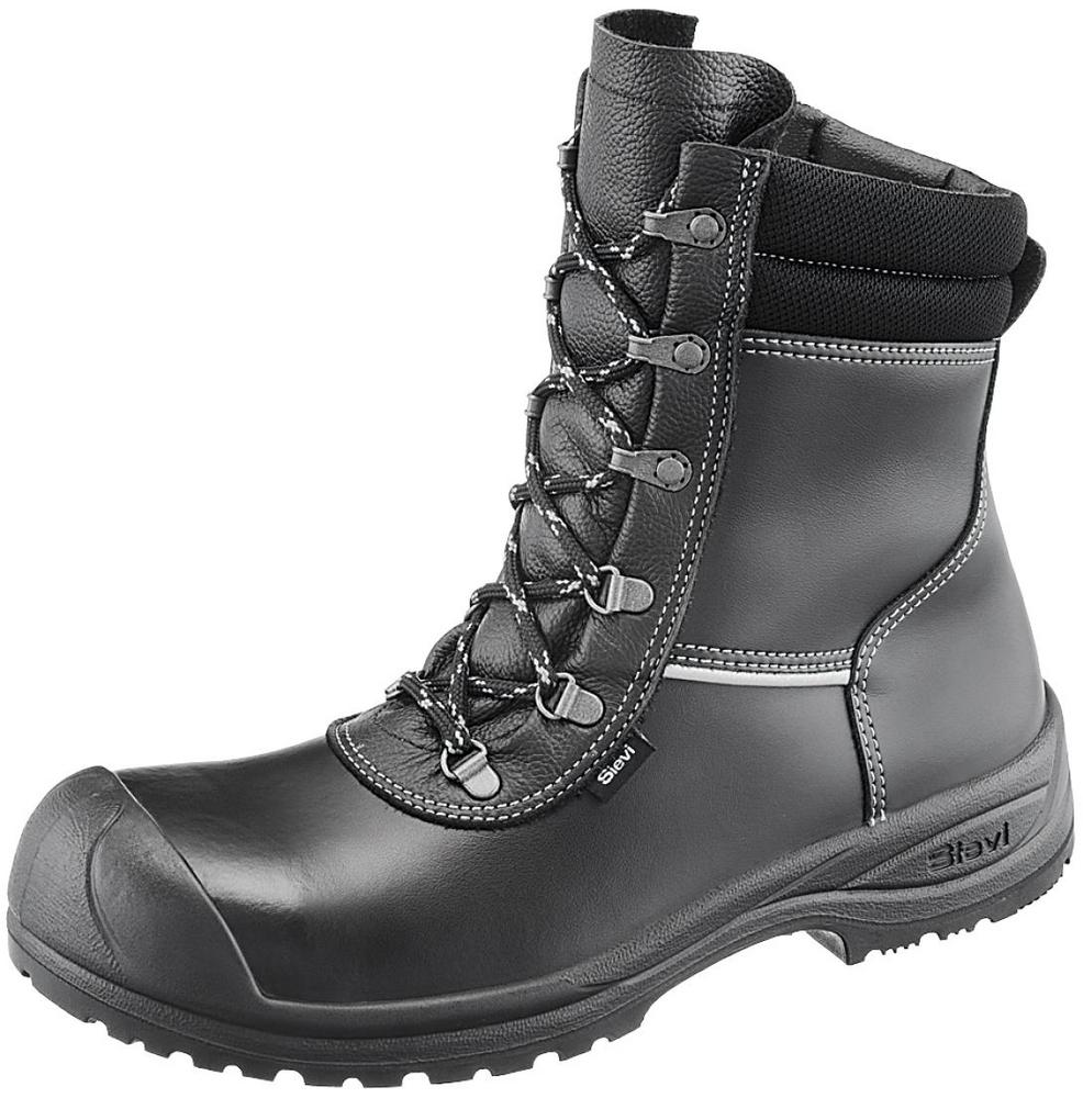 Sievi Solid XL+ Fur Lined S3 Side Zip Safety Boots ESD 52271-353