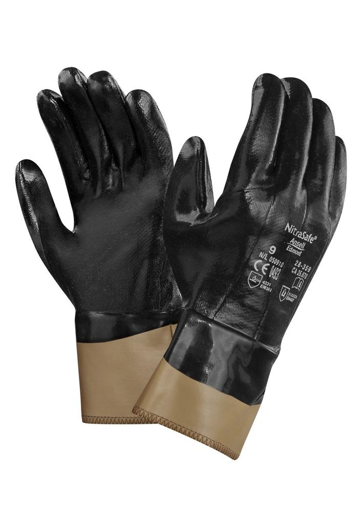 Ansell 28-359 Nitrasafe® Nitrile Work Gloves Cut Resistant Size 10