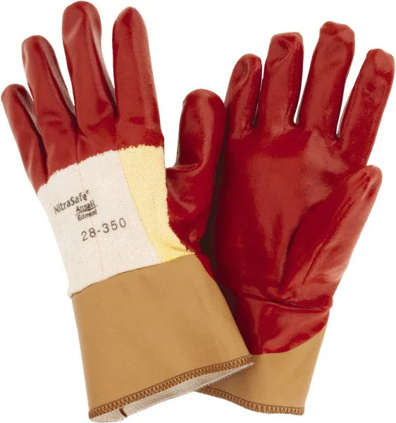 Ansell 28-350 Nitrasafe® Work Gloves Cut Resistant Nitrile ¾ Coated Size 8