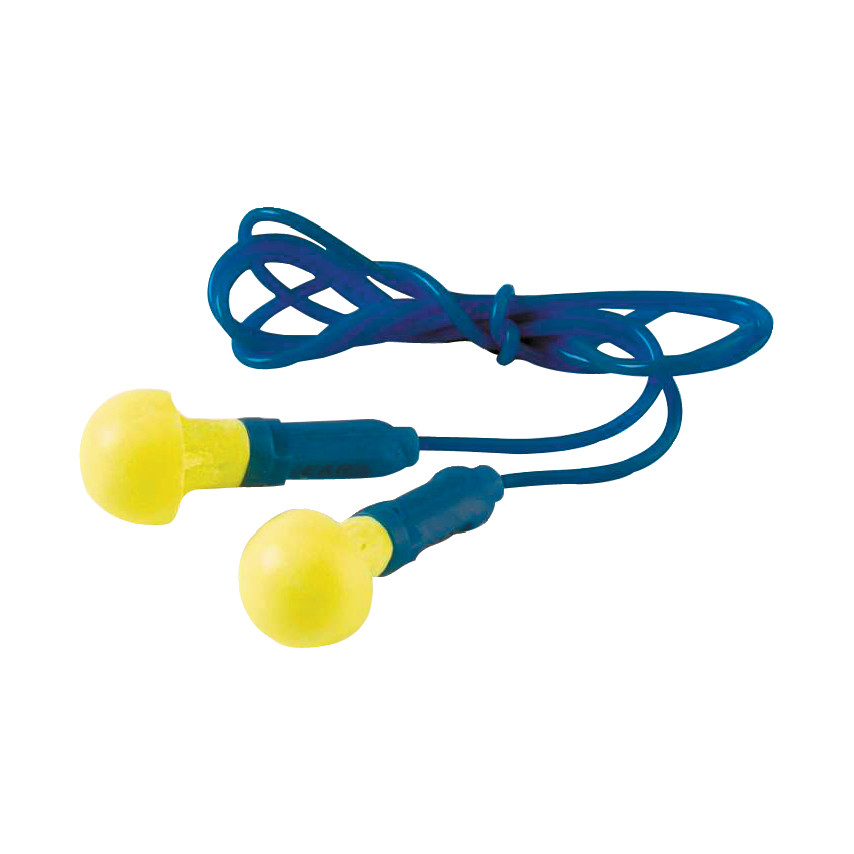 3M E.A.R EX-01-020 Push-Ins Corded Ear Plugs Pack of 100