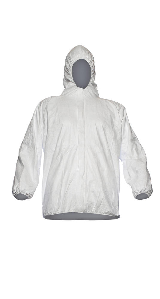 DuPont? Tyvek® 500 D13396450 Disposable Jacket Hooded White Size XL