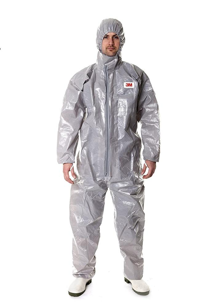 3M 4570 Protective Disposable Coverall Type 3/4/5/6 Grey