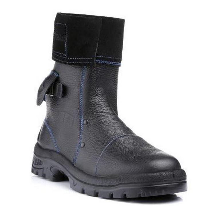 Goliath HM2005 Men Foundry Boots Mid Calf Length Black