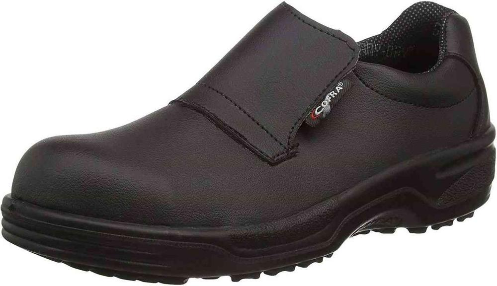 Cofra Itaca Black Slip-On Safety Shoes
