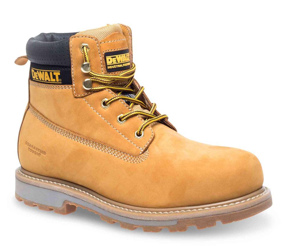 DeWALT Hancock Men Safety Boots Steel Toe Cap SBP Work Footwear Size UK 8 EU 42