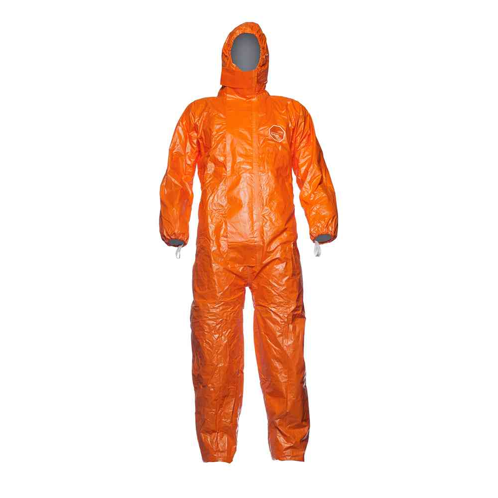 DuPont? Tychem® 6000 F CHA5 Disposable Hooded Coverall Type 3B
