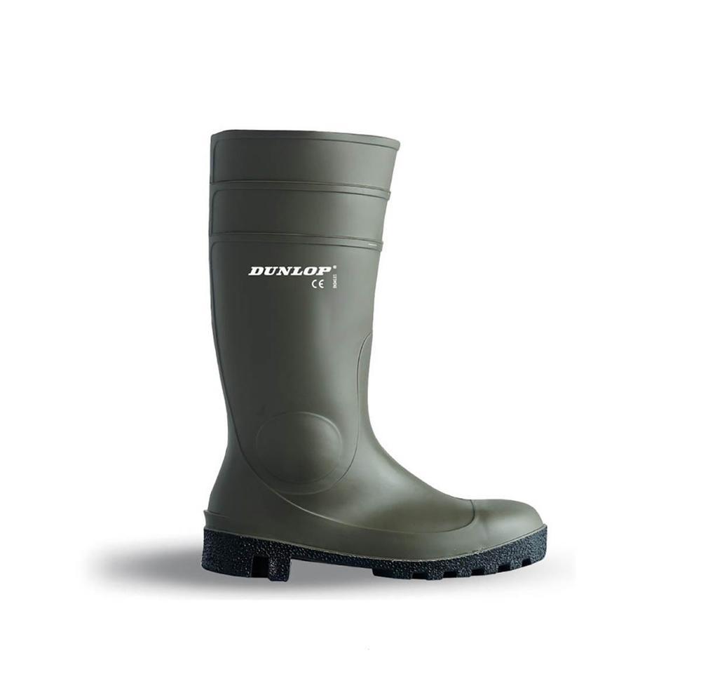 Dunlop 142VP Protomastor Unisex S5 Wellington Boots - Green