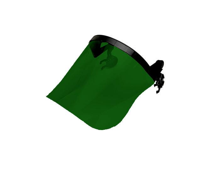 Centurion S593 Face Shield Acetate Green Shade 3 210mm