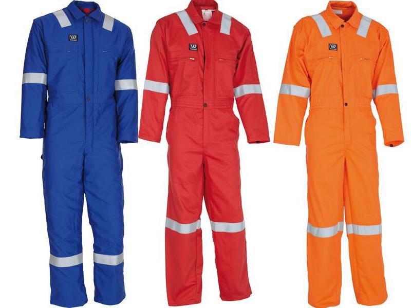 Wenaas Ambassador 250gm FR Coverall 81750-1023 Various Colours Hi Visibility