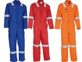 Wenaas Ambassador Flame Resistant 81750-1023 Hi Visibility Work FR Coverall 250gsm