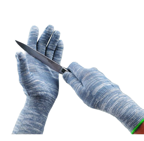 Polyco Blade Runner Solo 790 Cut 5 Resistant Coruscate Seamless Work Cut Protection Gloves