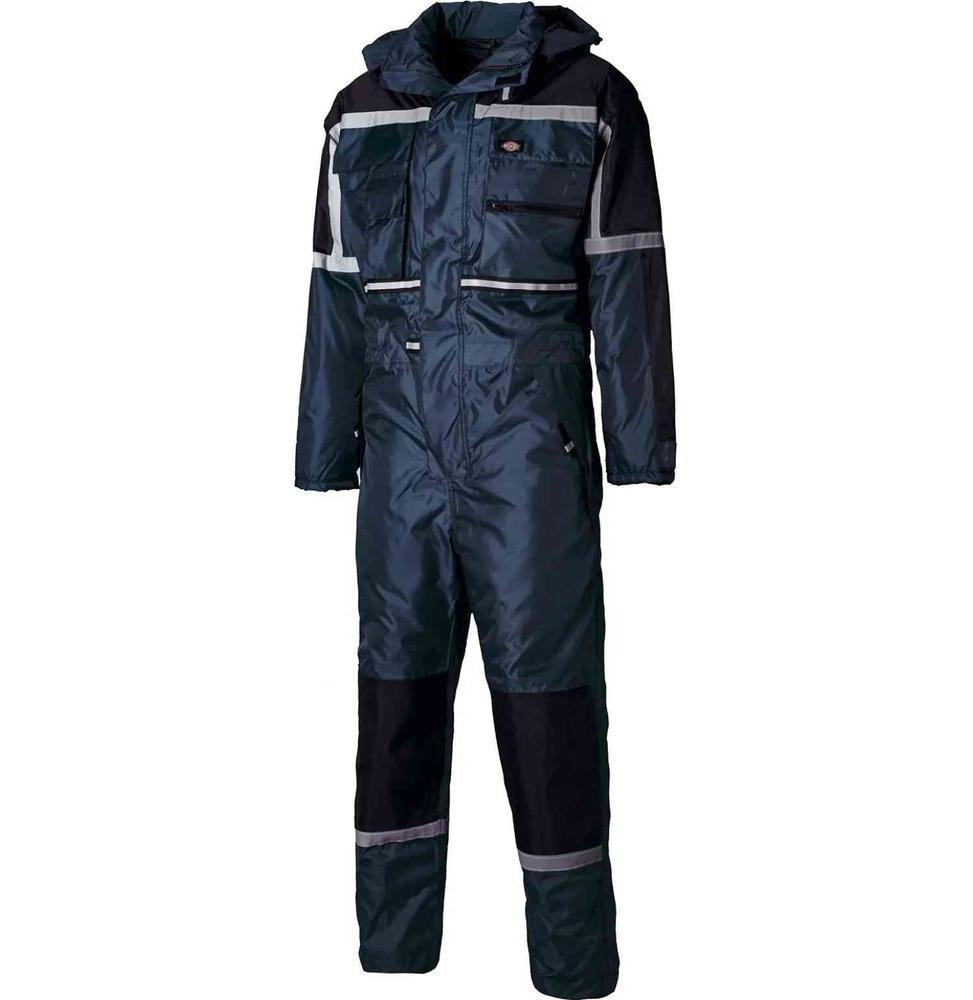 Dickies WP15000 Waterproof Padded Work Coverall Navy
