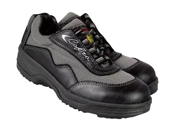 Cofra Katia Ladies Safety Trainer Shoes S1P Black Size UK 6