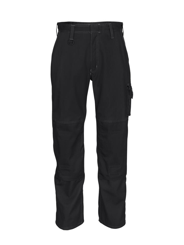 Mascot Pittsburgh Cargo Trousers with Adjustable Kneepad Pockets Black