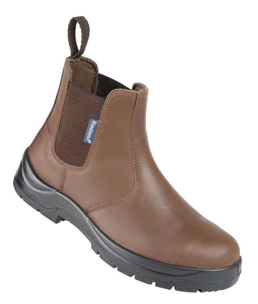 Himalayan Mens Safety Dealer Boots Brown
