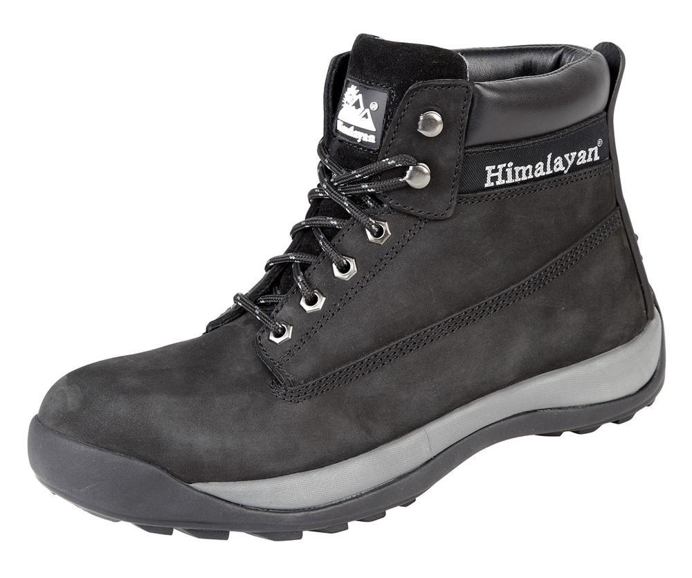 Himalayan Black Nubuck Iconic Boot with Steel Midsole
