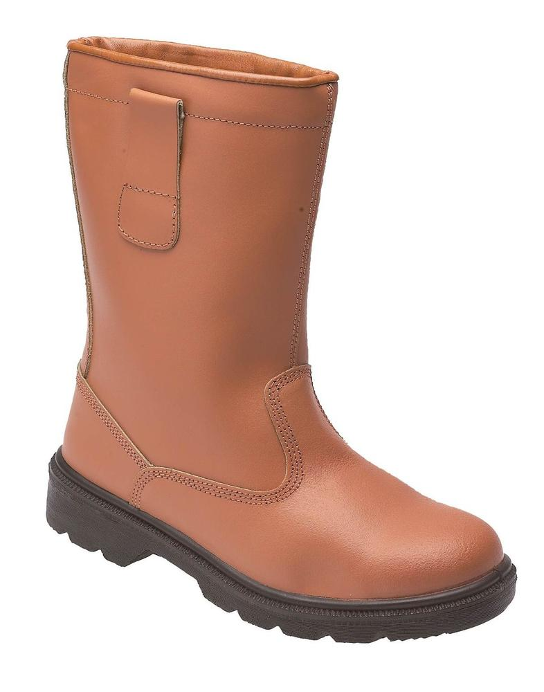 Himalayan Tan Warm lined Rigger with Steel Midsole Size UK 11
